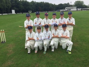 West Surrey U11 Cup Winners 2015